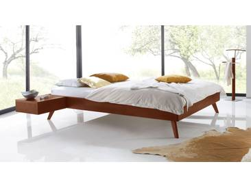 Massivholzbett Andros in 90x200 cm, Rot, mehr Farben und Größen auf Betten.de