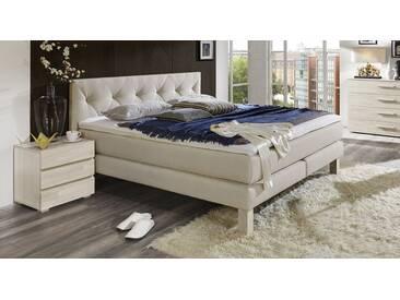 Boxspringbett Cantabria in 90x210 cm, Beige, mehr Farben und Größen auf Betten.de