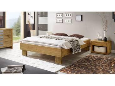 Massivholzbett Maraba in 180x200 cm, Braun, mehr Farben und Größen auf Betten.de