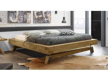 Massivholzbett Valdivia in 140x200 cm, Braun, mehr Farben und Größen auf Betten.de