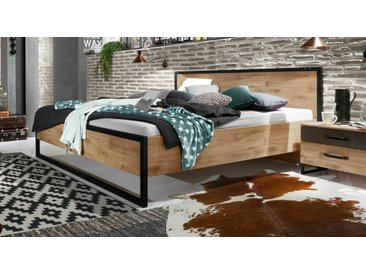 Designerbett 160x200 cm im Industrial Style mit Metall - Lakewood - BETTEN.de