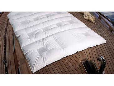 Daunen-Bettdecke clima balance premium warm 155x200 cm