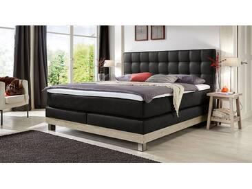 Boxspringbett Irving in 200x220 cm, Schwarz, mehr Farben und Größen auf Betten.de