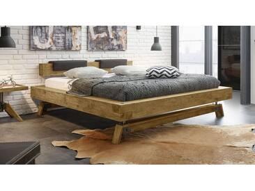 Massivholzbett Valdivia in 200x200 cm, Braun, mehr Farben und Größen auf Betten.de