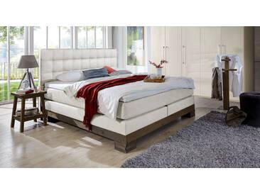 Boxspringbett Cueno in 180x200 cm, Weiß, mehr Farben und Größen auf Betten.de