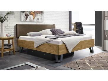 Massivholzbett Passo in 200x220 cm, Braun, mehr Farben und Größen auf Betten.de