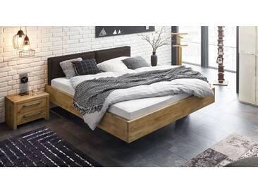Massivholzbett Dourados in 160x200 cm, Braun, mehr Farben und Größen auf Betten.de