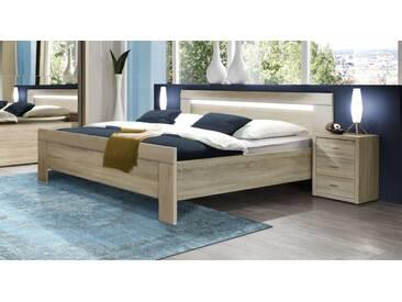 Designerbett Seymour in 140x200 cm, Braun, mehr Farben und Größen auf Betten.de