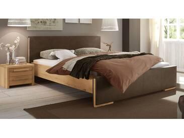 Massivholzbett Amadora in 140x210 cm, Beige, mehr Farben und Größen auf Betten.de