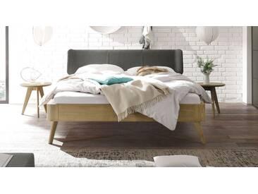 Massivholzbett Rakaia in 160x220 cm, Beige, mehr Farben und Größen auf Betten.de
