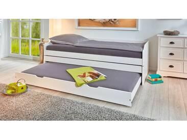 Gästebett 3-in-1 in 90x200 cm, Weiß, mehr Farben und Größen auf Betten.de