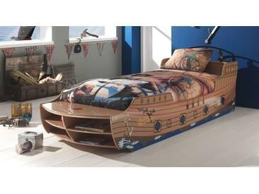Spielbett Enter in 90x200 cm, Braun, mehr Farben und Größen auf Betten.de
