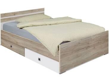 Jugendbett Tropea in 140x200 cm, Braun, mehr Farben und Größen auf Betten.de