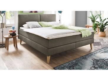 Boxspringbett Jaramillo in 180x200 cm, Grau, mehr Farben und Größen auf Betten.de
