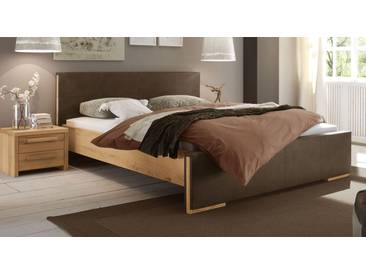 Massivholzbett Amadora in 200x210 cm, Beige, mehr Farben und Größen auf Betten.de