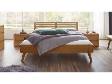 Massivholzbett Santa Rosa in 200x200 cm, Braun, mehr Farben und Größen auf Betten.de