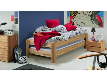 Jugendbett Elliot in 90x200 cm, Braun, mehr Farben und Größen auf Betten.de