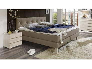Boxspringbett Cantabria in 140x200 cm, Grau, mehr Farben und Größen auf Betten.de