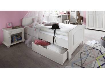 Jugendbett Countryside in 90x200 cm, Weiß, mehr Farben und Größen auf Betten.de