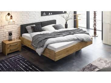 Massivholzbett Dourados in 200x200 cm, Braun, mehr Farben und Größen auf Betten.de