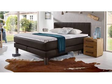 Boxspringbett Kastilia in 90x210 cm, Braun, mehr Farben und Größen auf Betten.de
