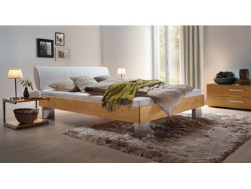 Designerbett Nuno - 140x200 cm - Buche natur - BETTEN.de