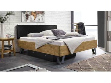 Massivholzbett Passo in 180x200 cm, Braun, mehr Farben und Größen auf Betten.de