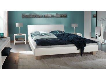 Futonbett Legano - 140x200 cm - weiß - Designerbett