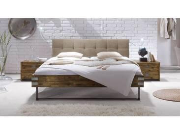 Massivholzbett Hamina in 200x210 cm, Braun, mehr Farben und Größen auf Betten.de