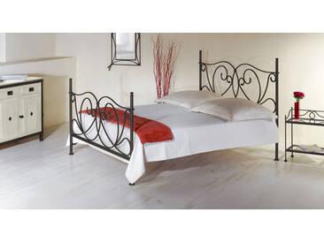 Metallbett San Pedro in 140x200 cm, Grau, mehr Farben und Größen auf Betten.de