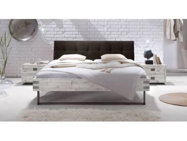 Massivholzbett Hamina in 180x200 cm, Weiß, mehr Farben und Größen auf Betten.de