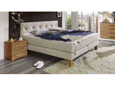 Boxspringbett Cantabria in 140x200 cm, Beige, mehr Farben und Größen auf Betten.de