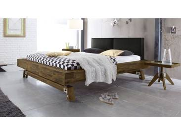 Massivholzbett Salo in 200x220 cm, Braun, mehr Farben und Größen auf Betten.de