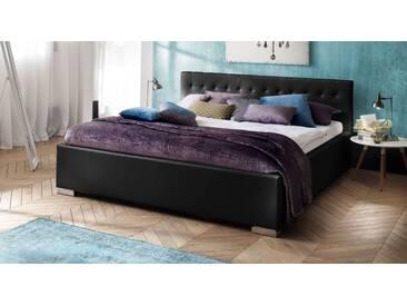 Polsterbett Molare in 180x200 cm, Schwarz, mehr Farben und Größen auf Betten.de