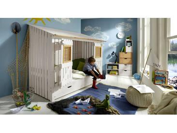 Spielbett Strandhaus, Weiß, mehr Farben und Größen auf Betten.de