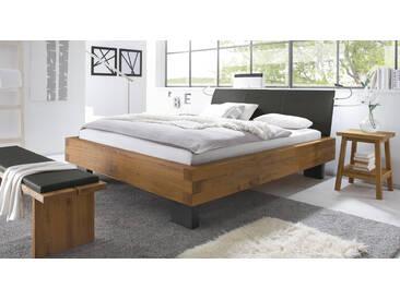 Massivholzbett Leros in 200x210 cm, Braun, mehr Farben und Größen auf Betten.de