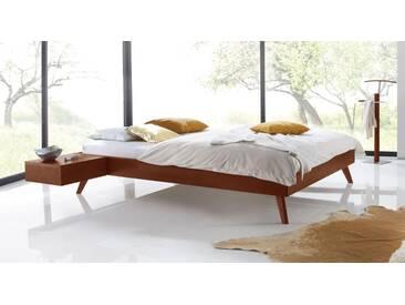 Massivholzbett Andros in 180x200 cm, Rot, mehr Farben und Größen auf Betten.de