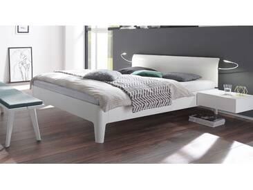 Massivholzbett Narva in 140x200 cm, Weiß, mehr Farben und Größen auf Betten.de