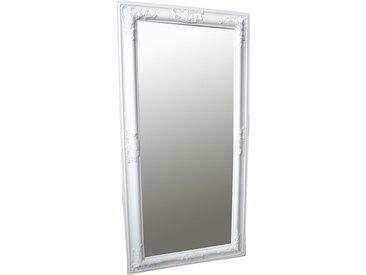 Wandspiegel  weiß SAMANTHA  100 x 50 cm  -  indoor