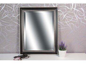 Wandspiegel schwarz ELLA 49 cm x 39 cm  -  indoor