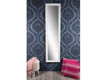 Barockspiegel Wandspiegel weiß Barock ALAINE 160 x 40 cm  -  indoor
