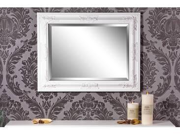Barockspiegel Wandspiegel weiß Barock LEILA 65 x 50 cm