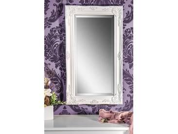 Barockspiegel Wandspiegel weiß Barock FABIENNE 70 x 40 cm