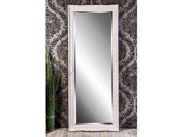 Barockspiegel Wandspiegel weiß Barock ELISABETH 150 x 60 cm  -  indoor