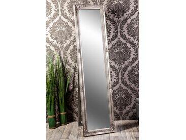 Barockspiegel Standspiegel silber Barock Madison 160 x 40 cm  -  indoor