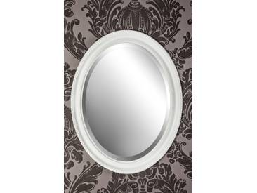 Spiegel Wandspiegel weiß Mia 47 x 37 cm