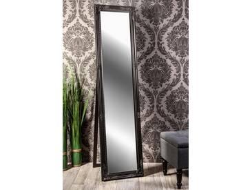 Barockspiegel Standspiegel schwarz Barock AMELIA 160 x 40 cm