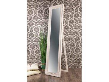 Barockspiegel Standspiegel Barock weiß GINA  160 x 40 cm  -  indoor