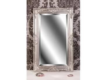Barockspiegel Wandspiegel silber antik Barock CLAIRE 80 x 50 cm