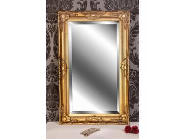 Barockspiegel Wandspiegel antik gold Barock DANA 80 x 50 cm